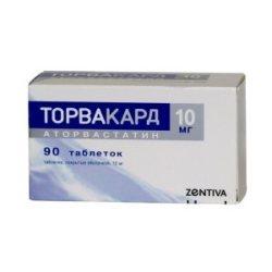 Инструкция по применению препарата Торвакард, показания, формы выпуска и аналоги
