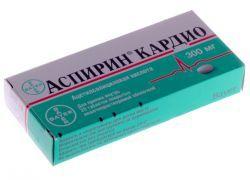 Аспирин Кардио: инструкция по применению, состав, показания и сравнение с кардиомагнилом